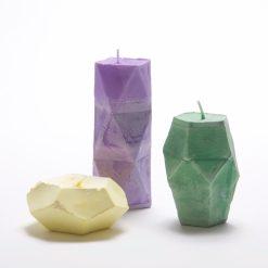geometric gemstone candle making kit pop shop america