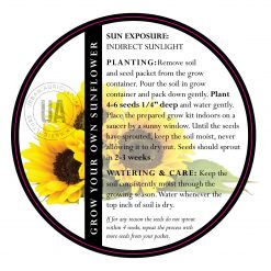 grow your own sunflowers kit care instructions