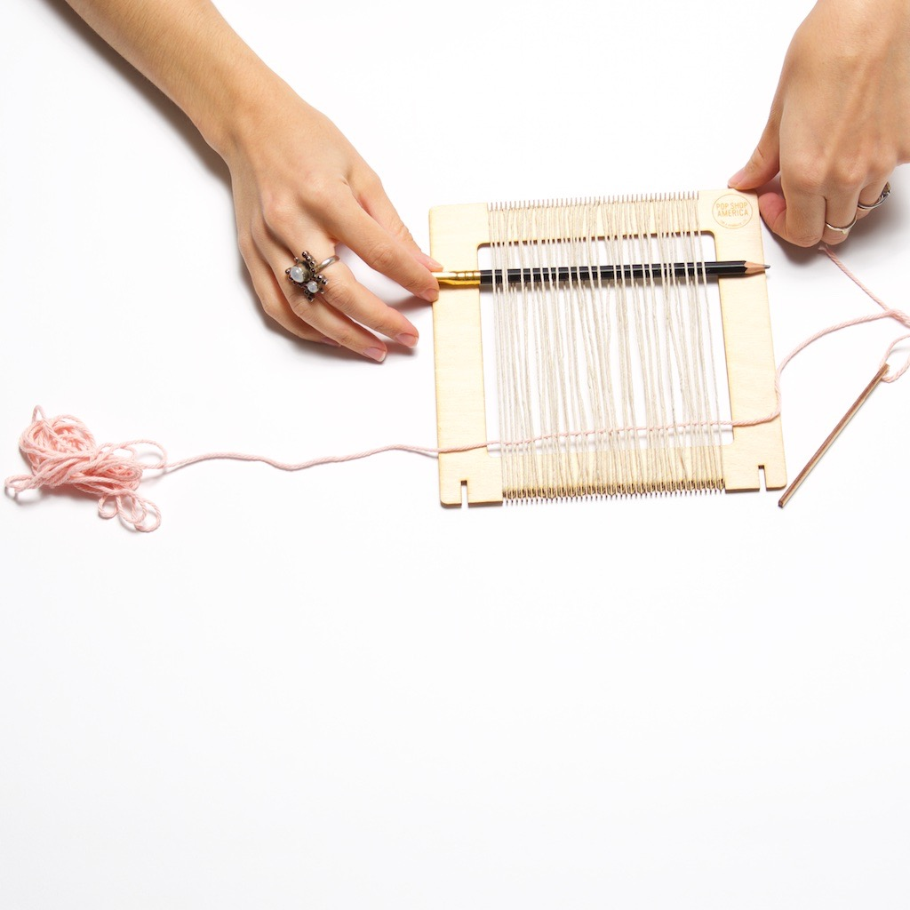 how to hold a shed in place weaving tutorial