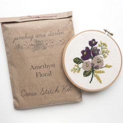 Amethyst-Floral-cross-stitch-kit-by-junebug-and-darlin_square
