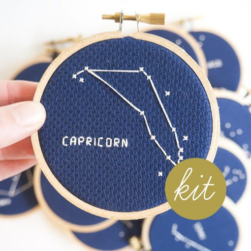 Capricorn-Astrology-Constellation-Cross-Stitch-Kit