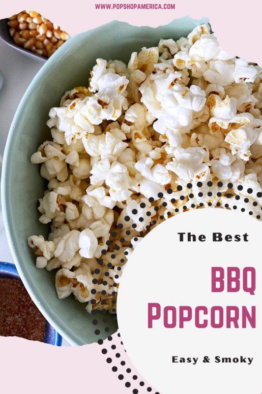 The Best smoky easy bbq popcorn recipe