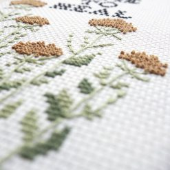 detail-of-take-time-to-heal-cross-stitch-kit