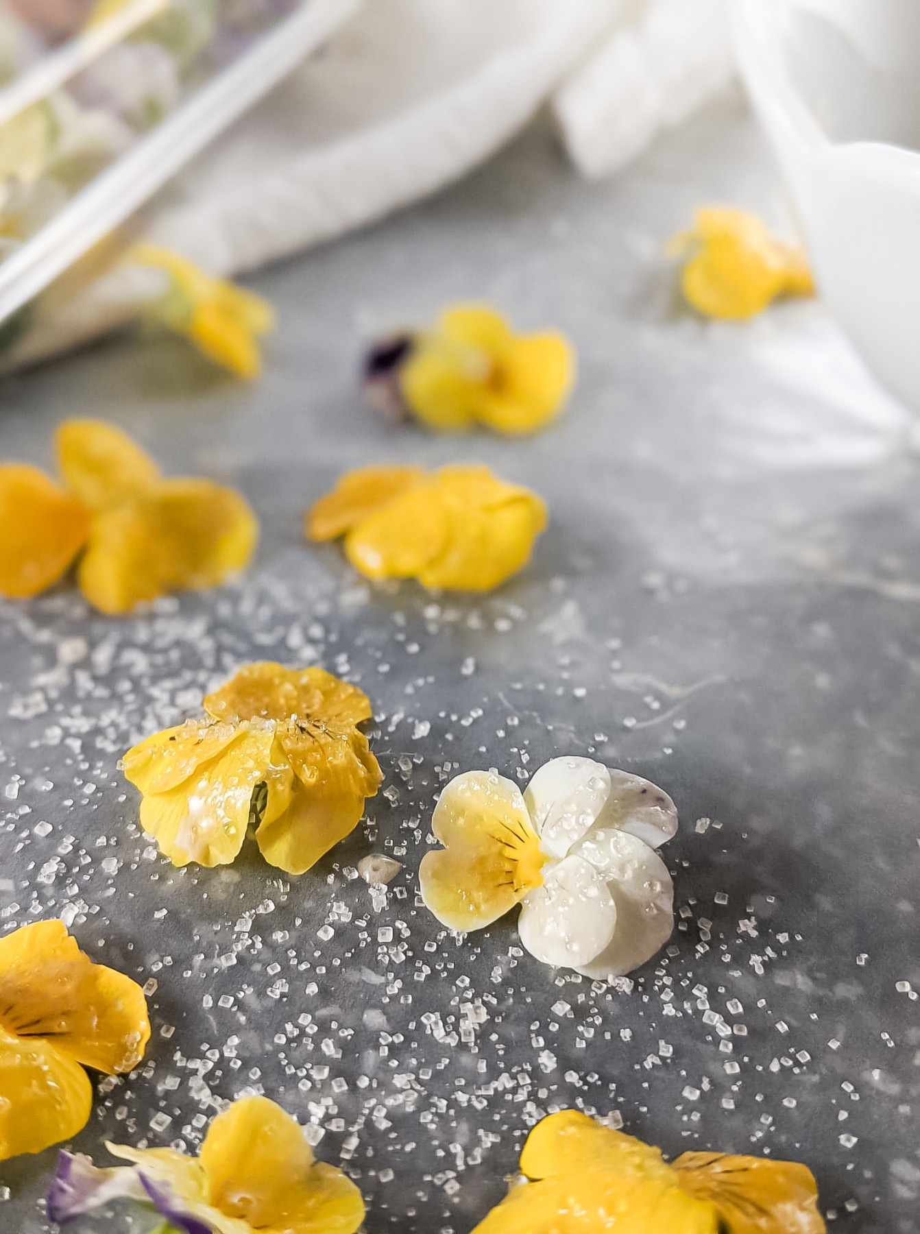 dried edible candied flowers recipe pop shop america