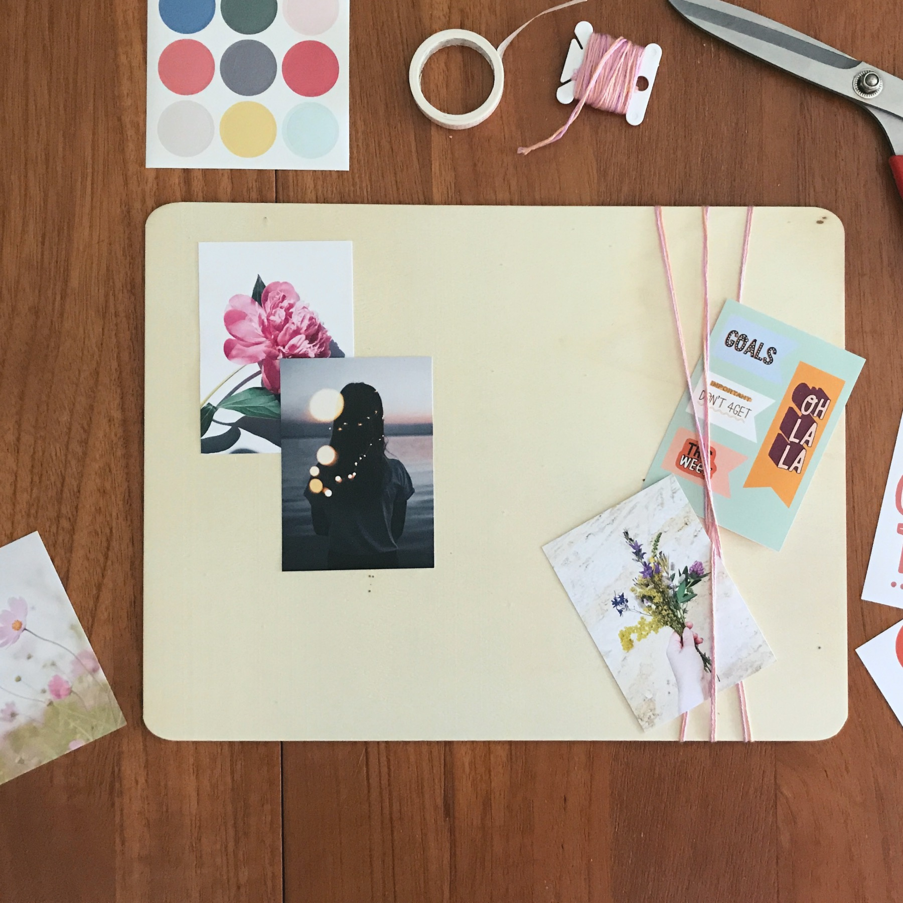 how to make a vision board tutorial pop shop america