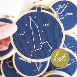 leo-astrology-cross-stitch-kit