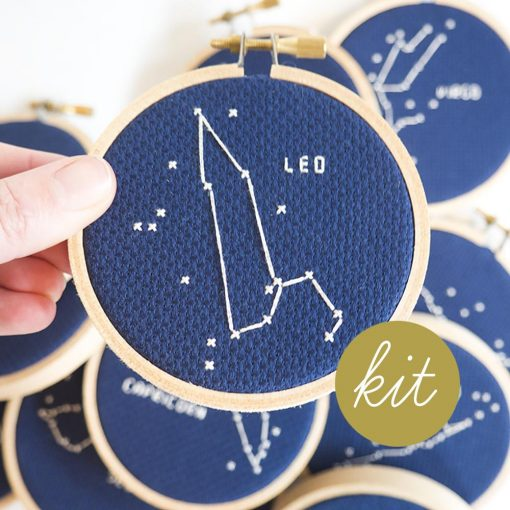 leo-astrology-cross-stitch-kit