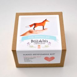 make your own fox toy diy kit