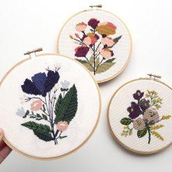 idnight-flowers-cross-stitch-supply-kit-finished