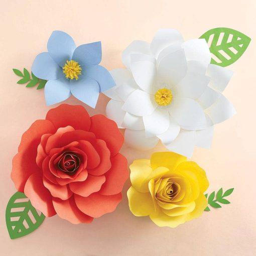 paper flower making kit craft supplies