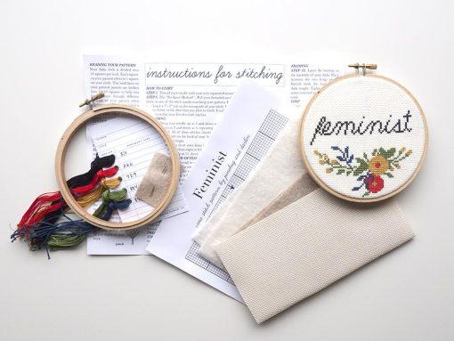 supplies-inside-the-feminist-cross-stitch-craft-supply-kit