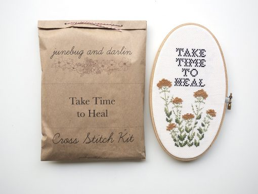 take-time-to-heal-cross-stitch-kit-with-packaging