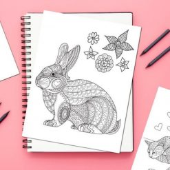 Pets-Parade-Adult-Coloring-Book-square