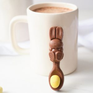 hot chocolate dipping spoons recipe for easter square