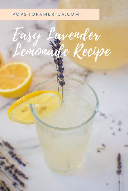 easy lavender lemonade feature pop shop america