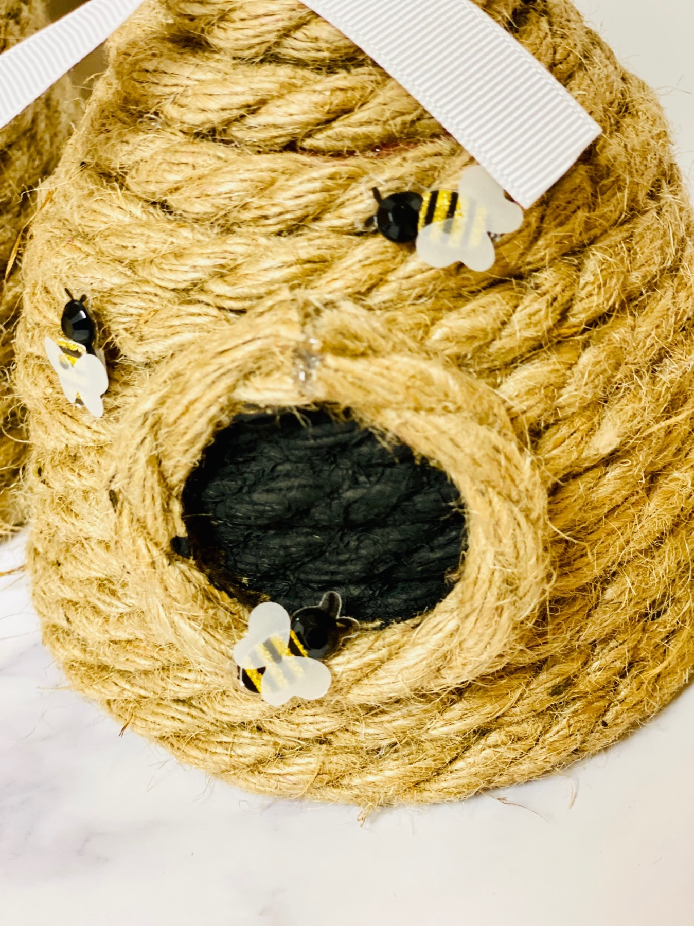 how to make rope sculpture beehive pop shop america