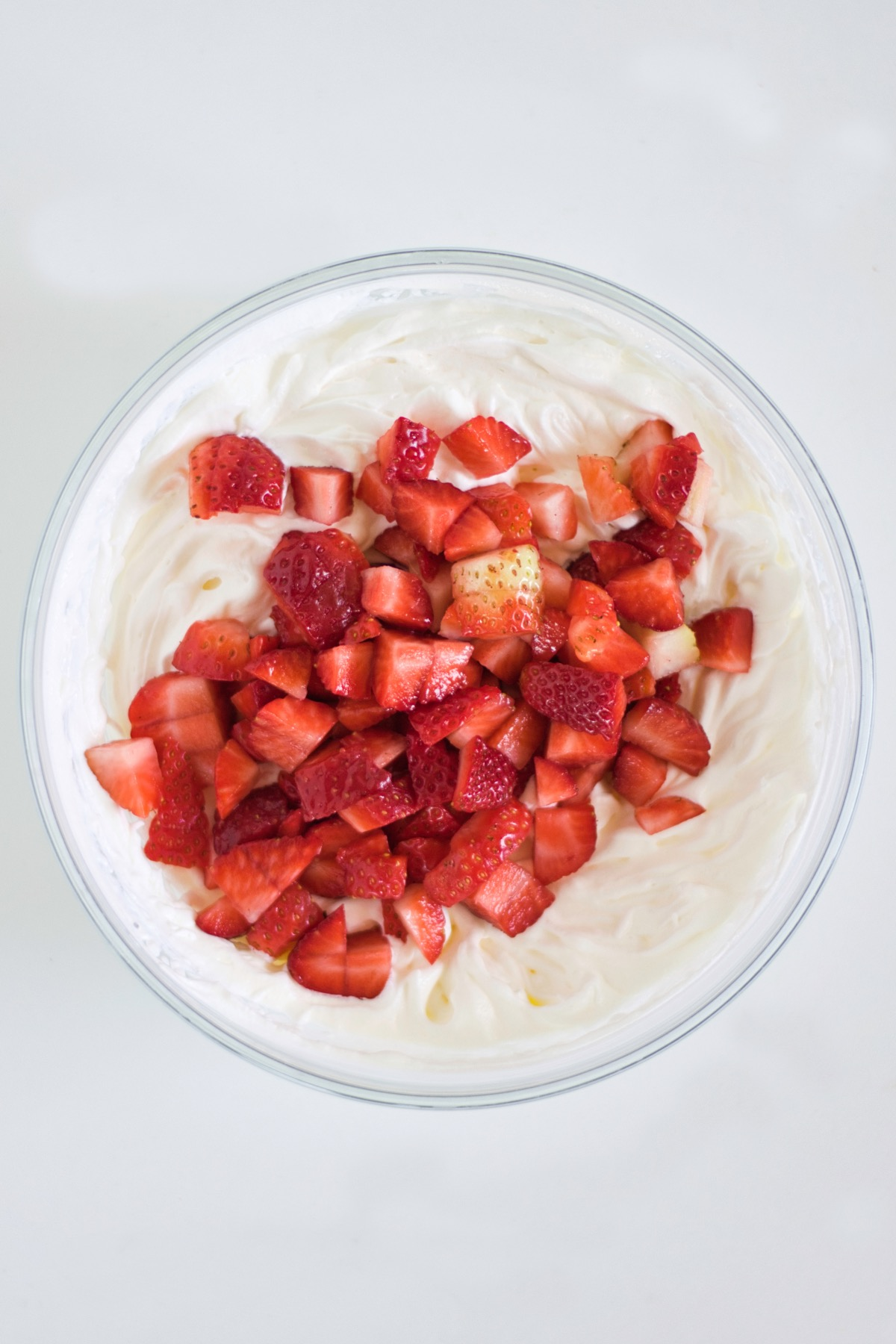 how to mix the strawberries and cream strawberry cream crumble recipe