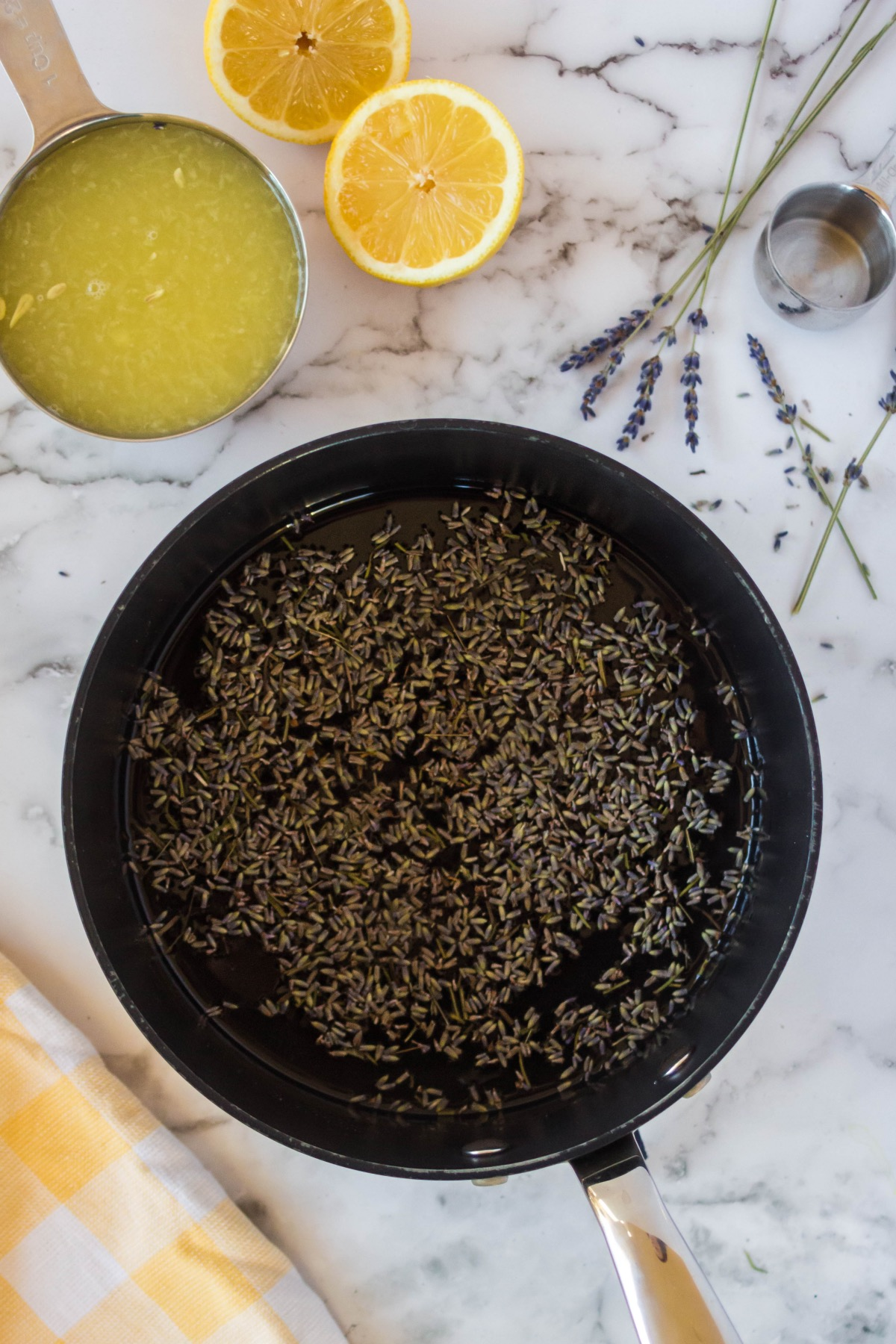 once reduced add lavender to simple syrup lavender lemonade recipe