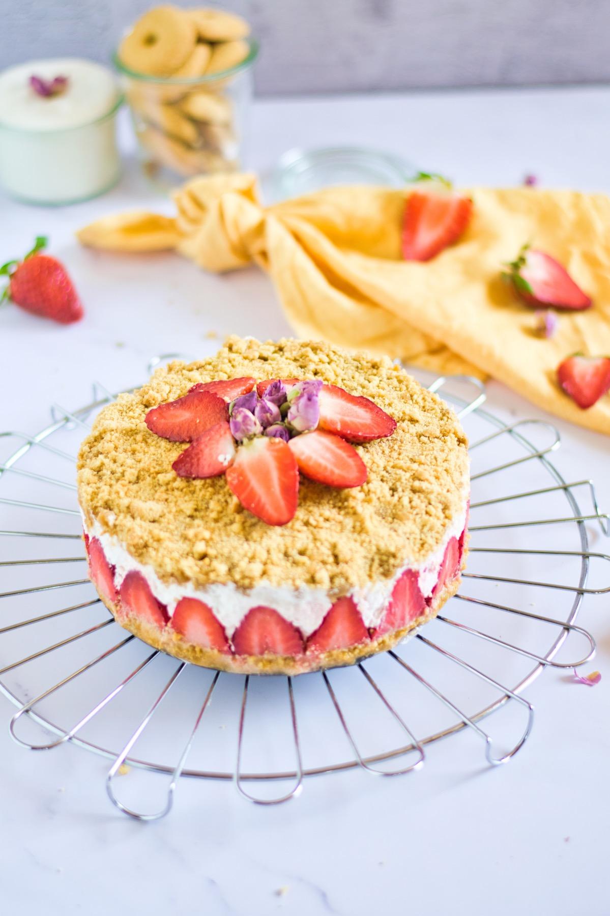 recipe for a strawberry crumble pie pop shop america
