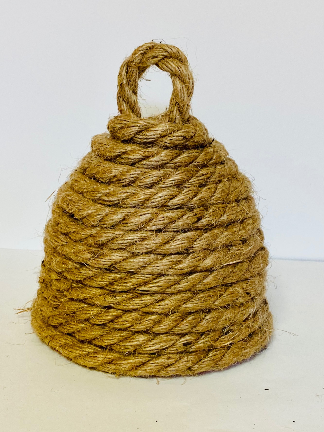 rope beehive diy decoration ready to paint