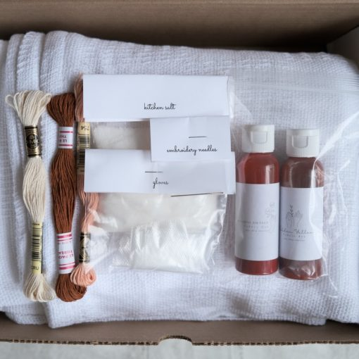 supplies-inside-the-november-dip-dye-blankets-box_square
