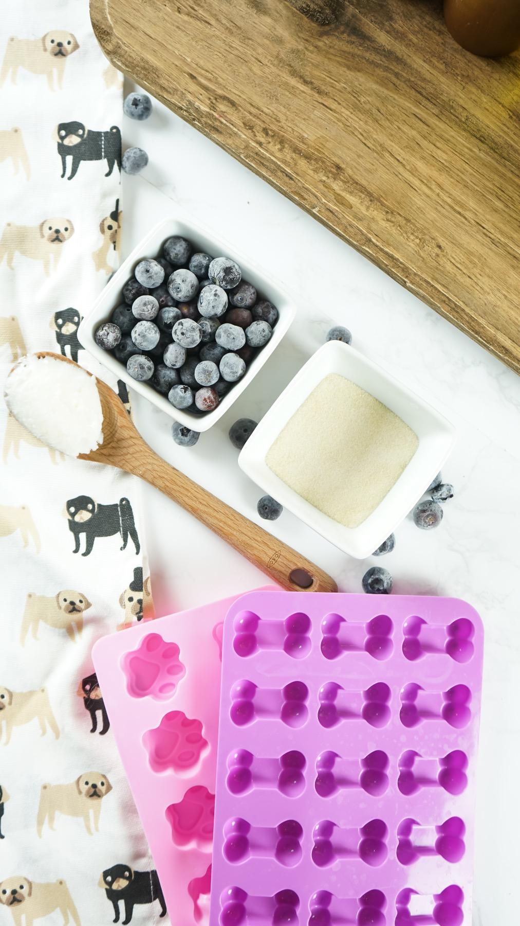 homemade gummy dog treats recipe ingredients