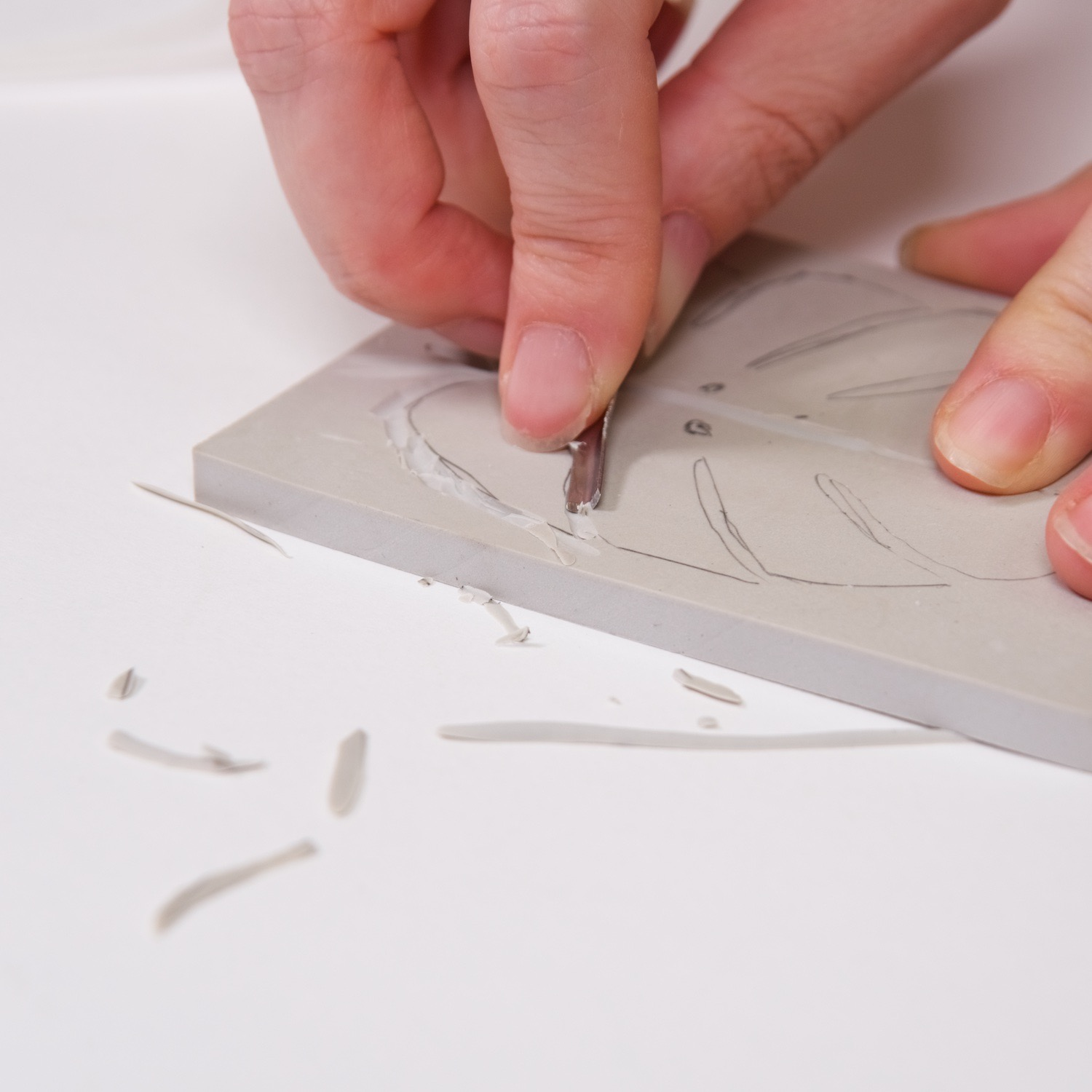 how to make a linocut block from a template diy