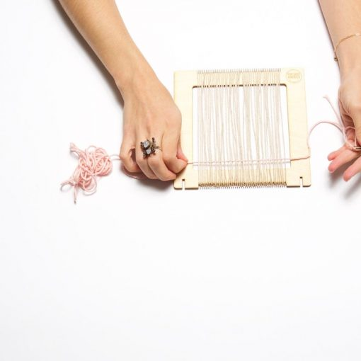 how to make your own weaving loom
