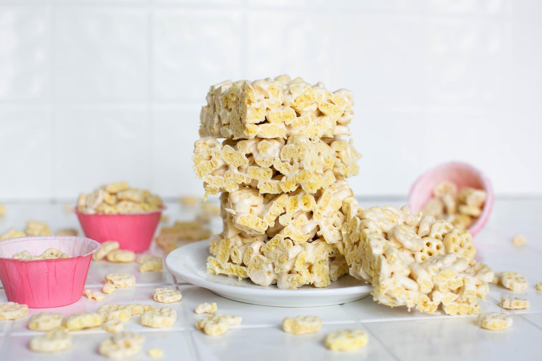 recipe for honeycomb cereal marshmallow treats