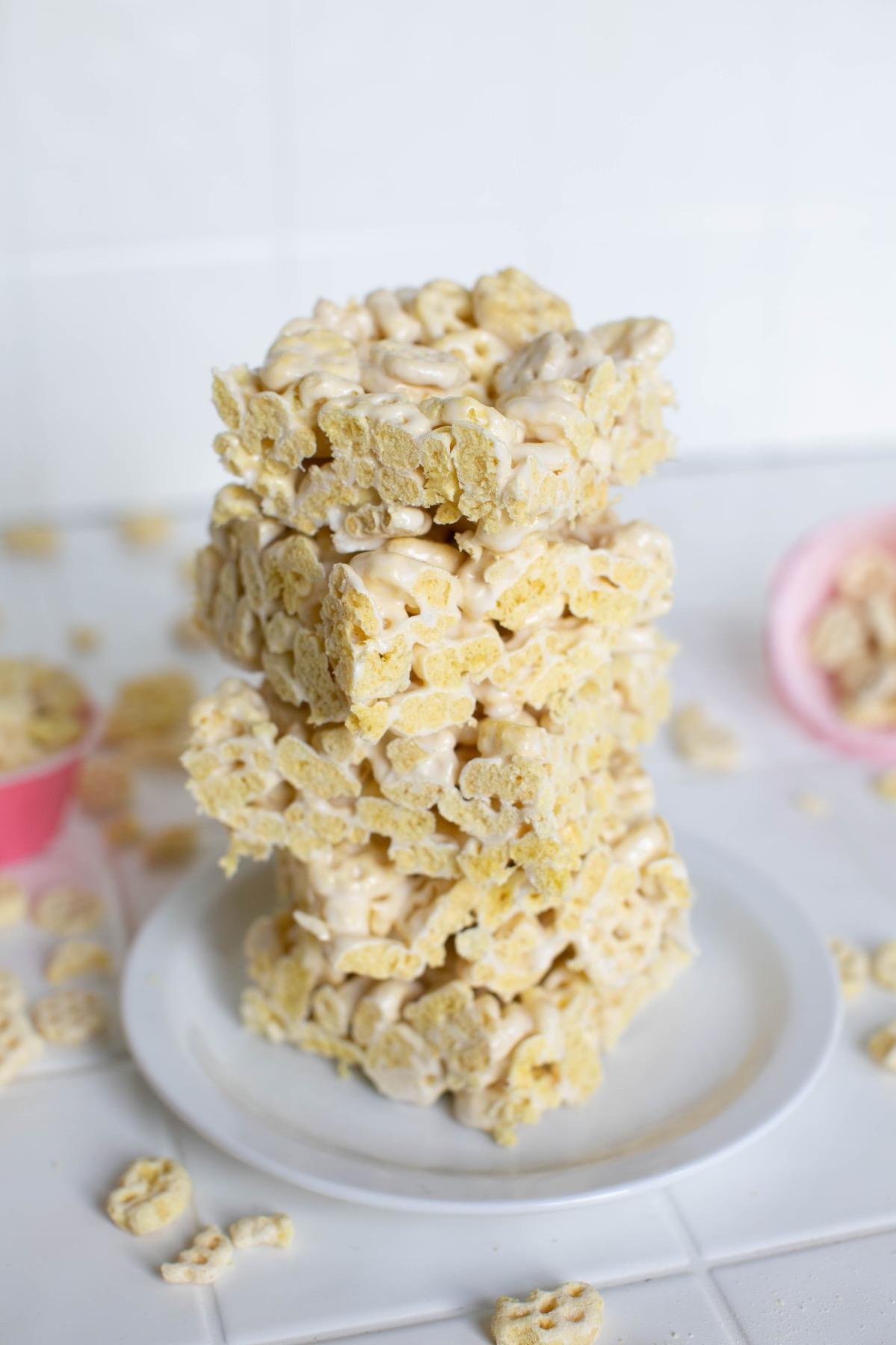 stack of honeycomb marshmallow treats pop shop america