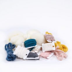 yard reams of wide and thick yarn