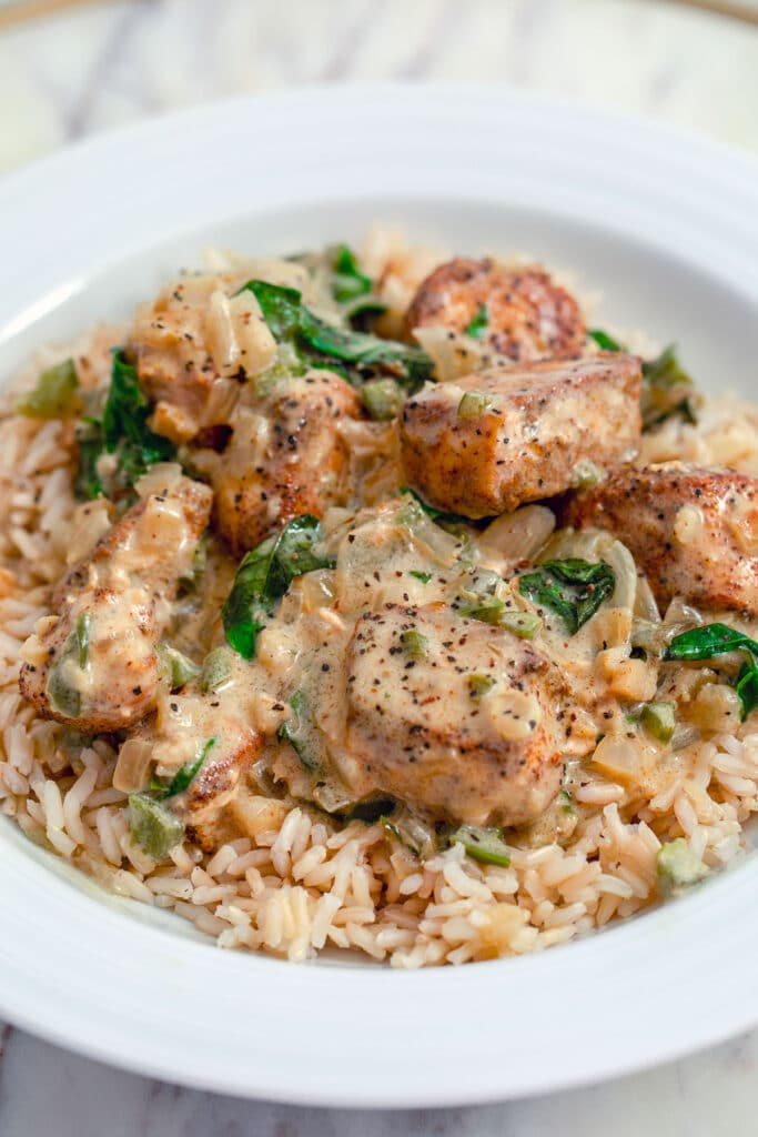 Basil-Chicken-in-Coconut-Curry-SauceBasil-Chicken-in-Coconut-Curry-Sauce