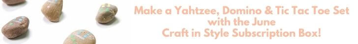 craft in style craft subscription box sneak peek june outdoor game
