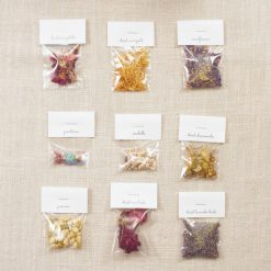 dried flowers for candle making kit