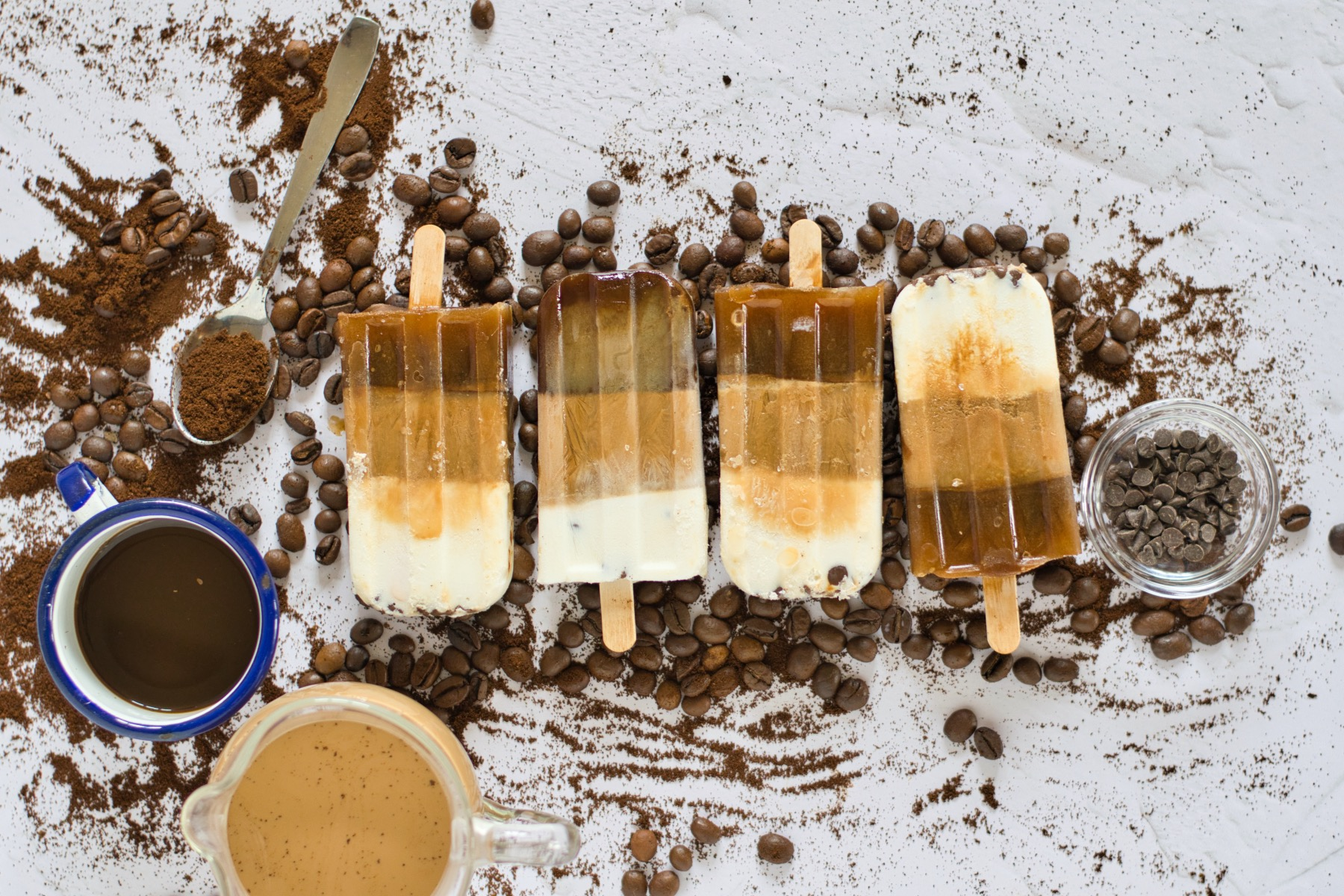 finished coffee popsicles recipe pop shop america