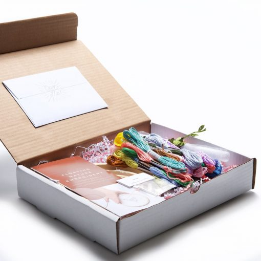 packaging and supplies of deluxe flower and plant embroidery