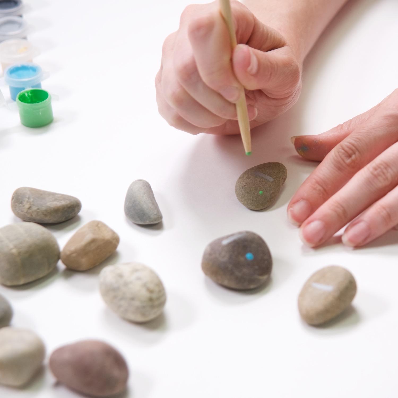painting the rock dominoes tutorial pop shop america