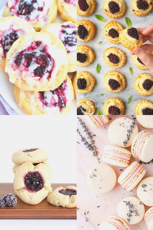 15+ beautiful dessert recipes with blackberries