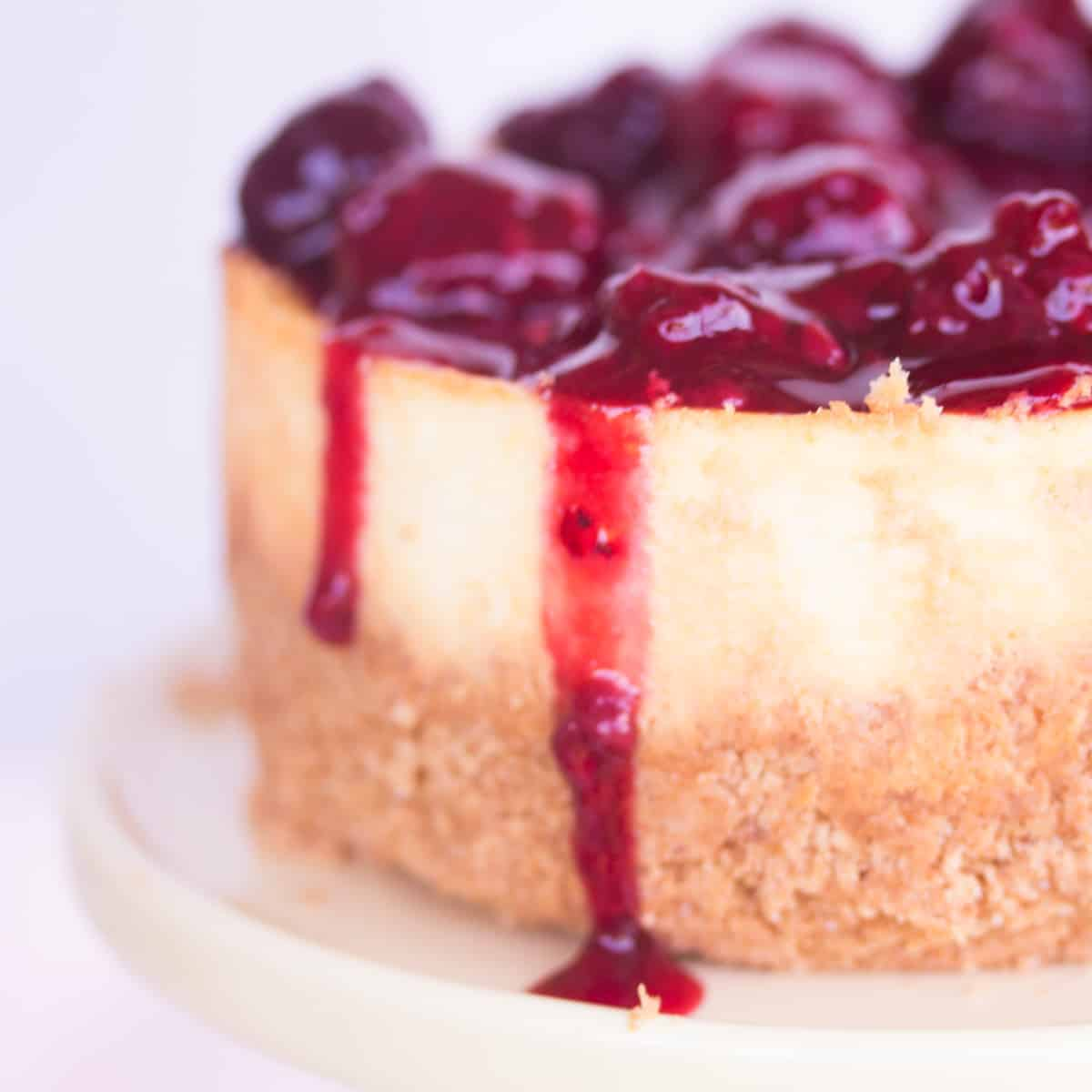 close-up-of-blackberry-cheesecake