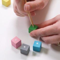 diy painted yahtzee dice set craft tutorial pop shop america