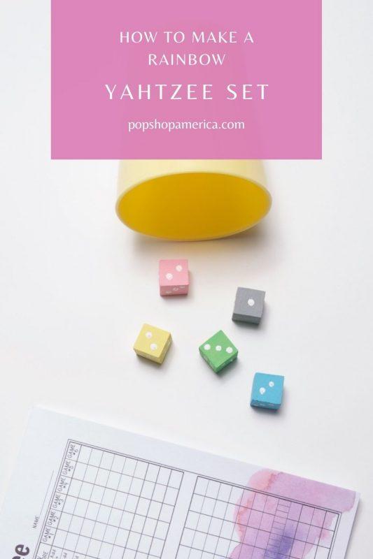 diy yahtzee set and free score card printables pop shop america