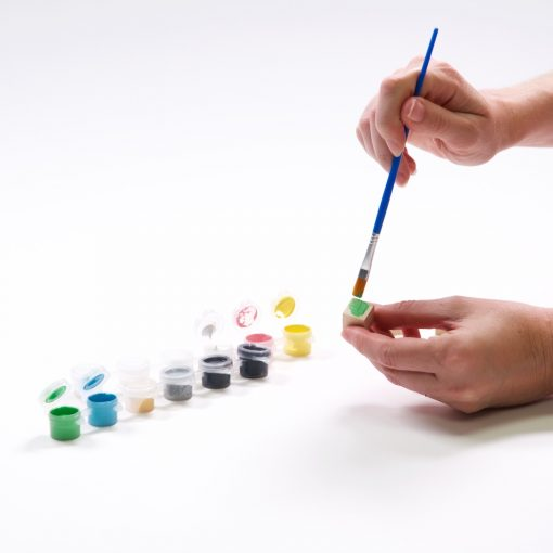 painted yahtzee dice set craft tutorial