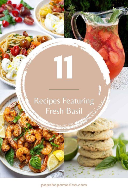 11 fresh basil recipes roundup