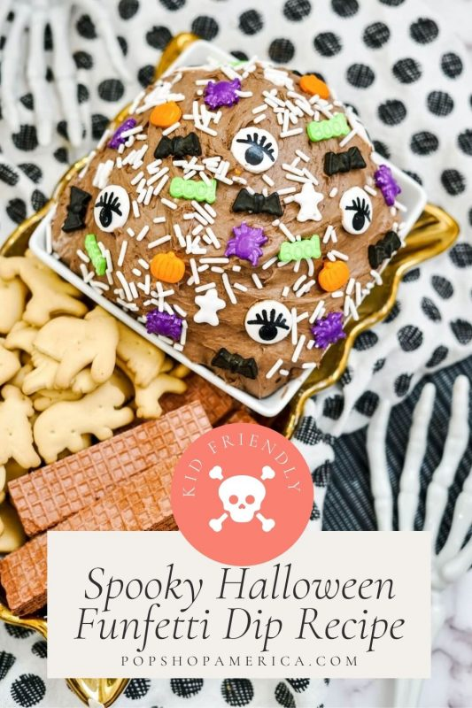 Spooky Halloween Funfetti Dip Recipe Pop Shop America