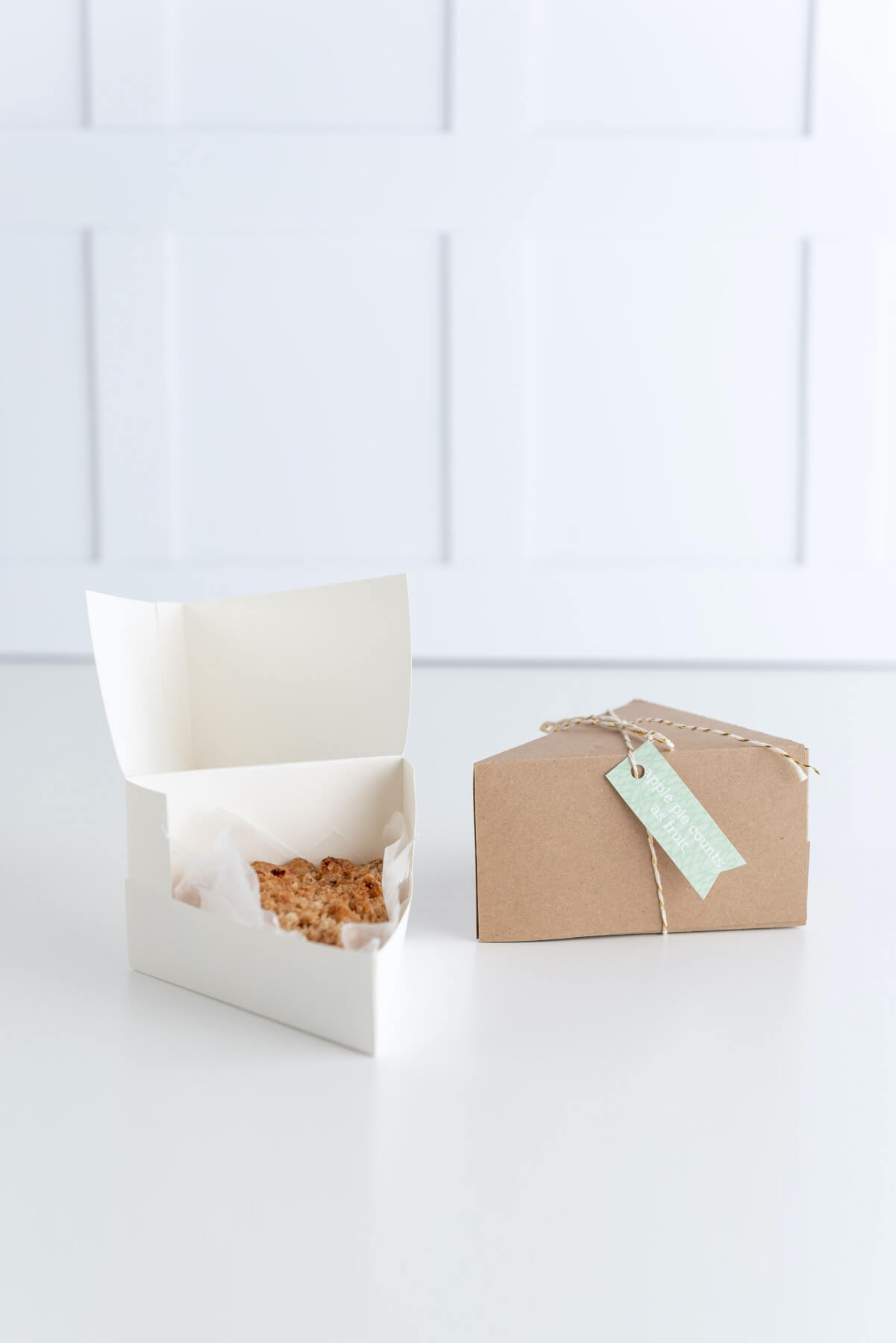 diy finished pie slice foldable box template