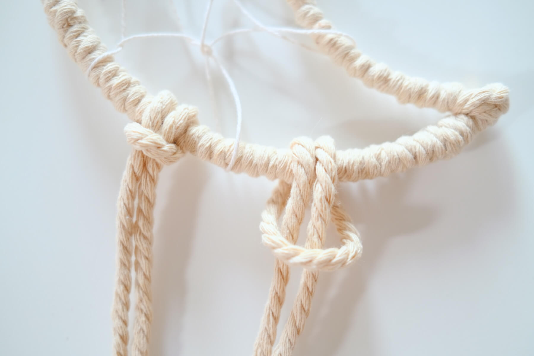 how to make a larks head knot