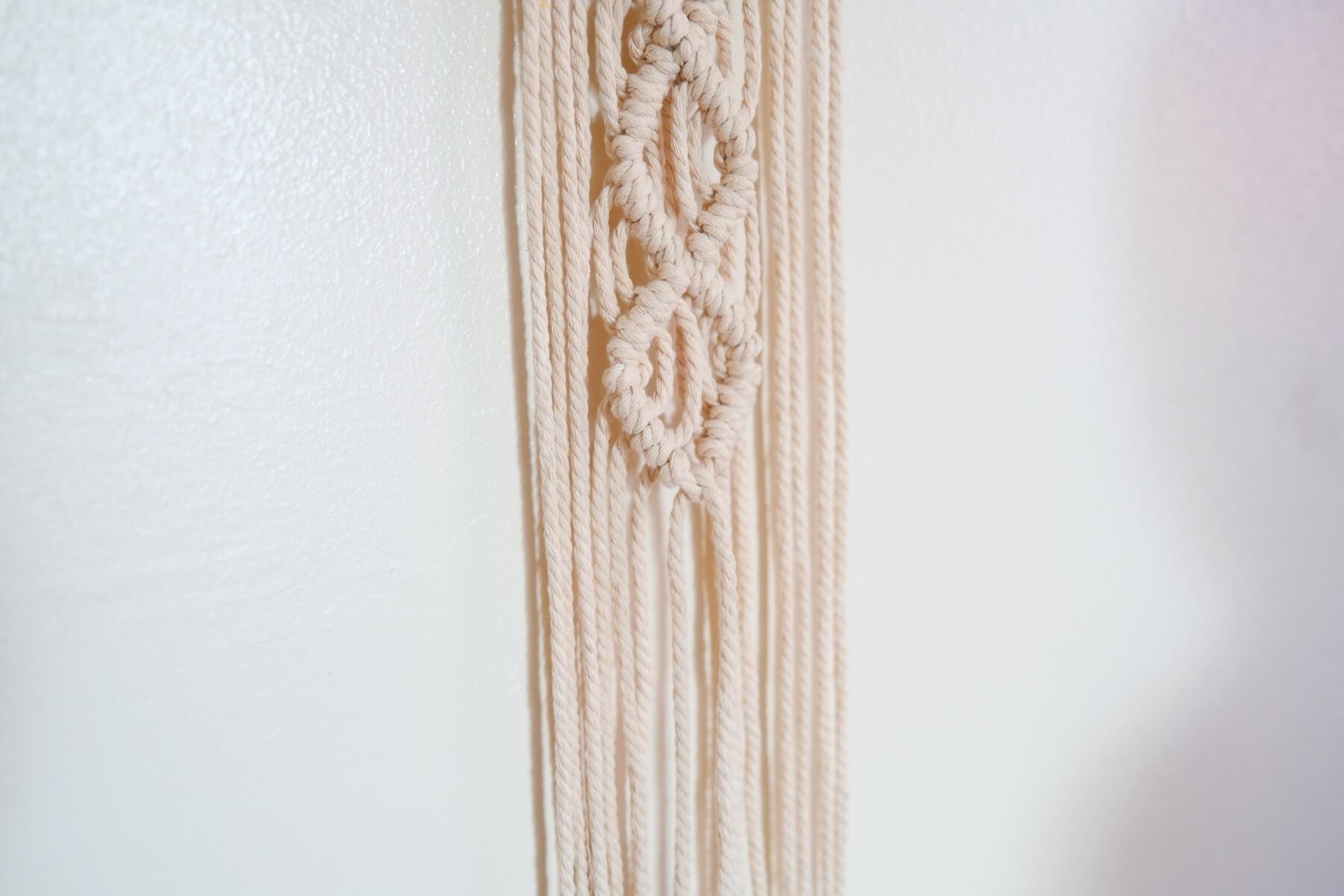 how to make a macrame knot tutorial