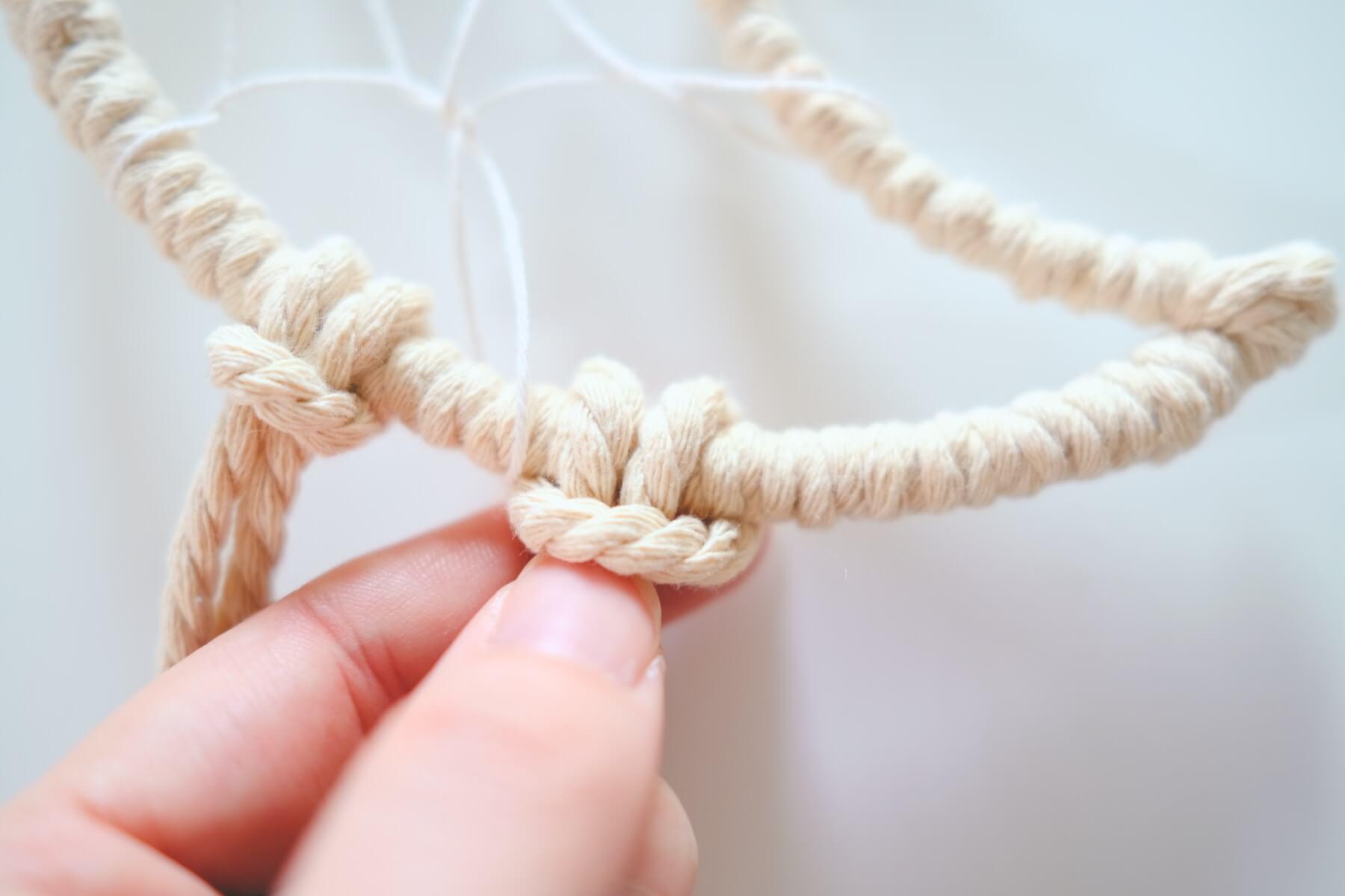 macrame larks head knot tutorial pop shop america