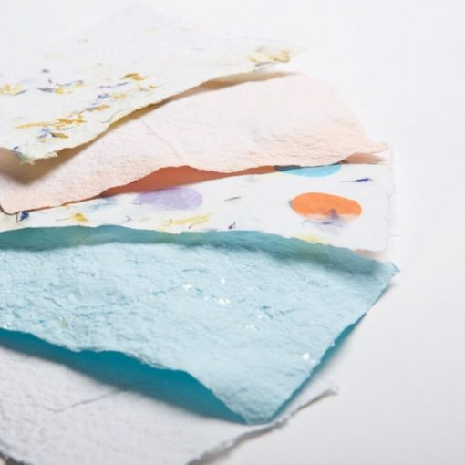 make your own hand made paper featured image