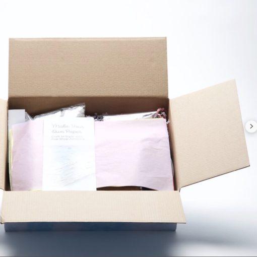 packaging diy handmade paper box square